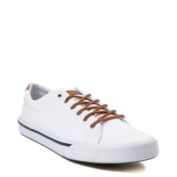 alternate view Mens Sperry Top-Sider Striper II Casual Shoe - WhiteALT5
