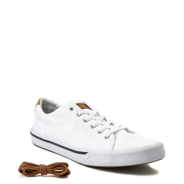 alternate view Mens Sperry Top-Sider Striper II Casual Shoe - WhiteALT1