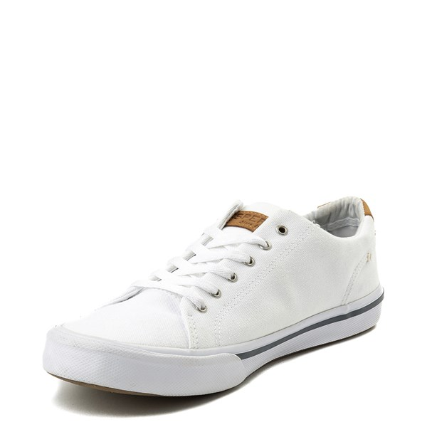 alternate view Mens Sperry Top-Sider Striper II Casual Shoe - WhiteALT3