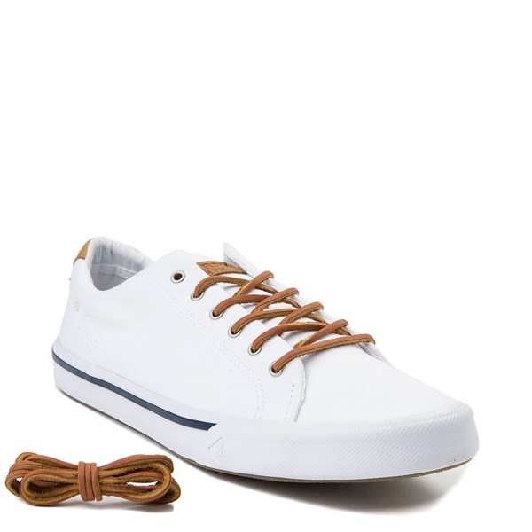 alternate view Mens Sperry Top-Sider Striper II Casual Shoe - WhiteALT6