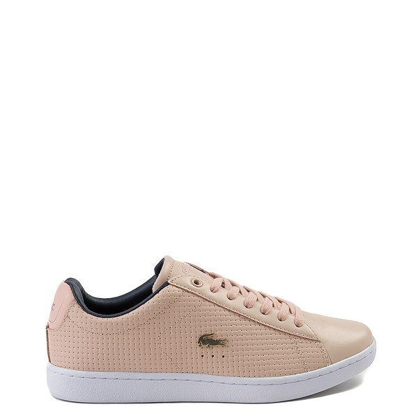 Womens Lacoste Carnaby Weave Athletic Shoe - Mauve