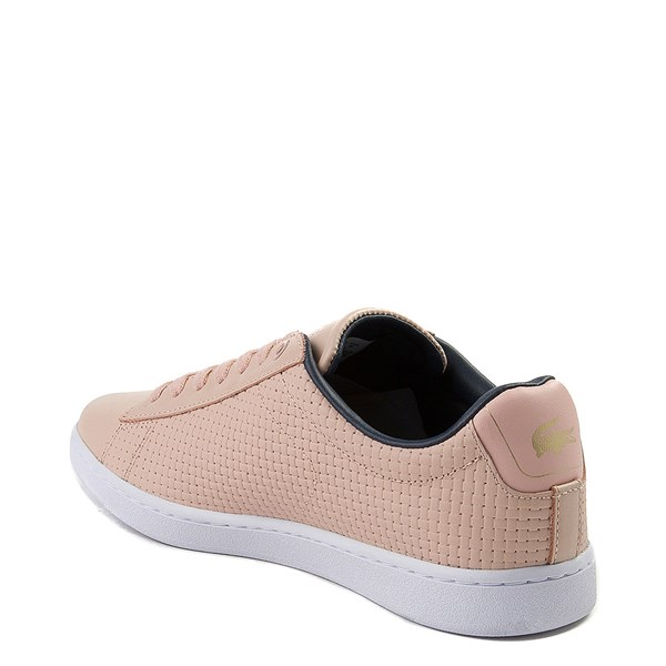 alternate view Womens Lacoste Carnaby Weave Athletic ShoeALT2