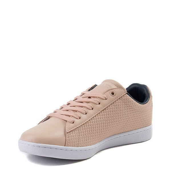 alternate view Womens Lacoste Carnaby Weave Athletic ShoeALT3