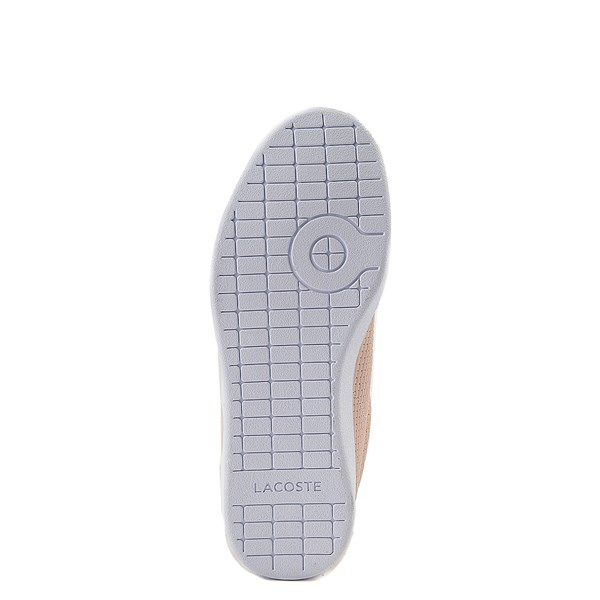 alternate view Womens Lacoste Carnaby Weave Athletic ShoeALT5