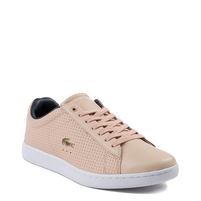 Alternate view of Womens Lacoste Carnaby Weave Athletic Shoe - Mauve
