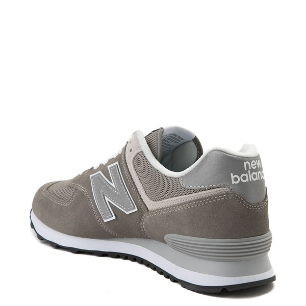 alternate view Mens New Balance 574 Classic Athletic Shoe - GrayALT1