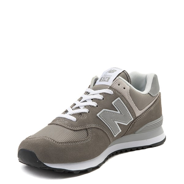 alternate view Mens New Balance 574 Classic Athletic Shoe - GrayALT2
