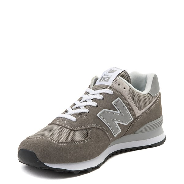 alternate view Mens New Balance 574 Classic Athletic Shoe - GrayALT3