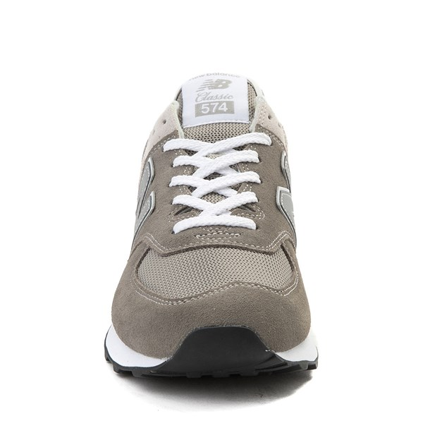 alternate view Mens New Balance 574 Classic Athletic Shoe - GrayALT4