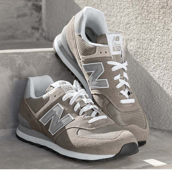 alternate view Mens New Balance 574 Classic Athletic Shoe - GrayALT7