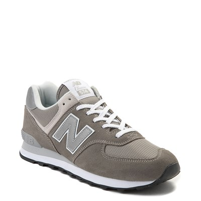 Alternate view of Mens New Balance 574 Classic Athletic Shoe - Gray