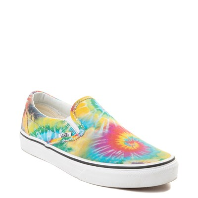 Alternate view of Vans Slip On Tie Dye Skate Shoe - Multi