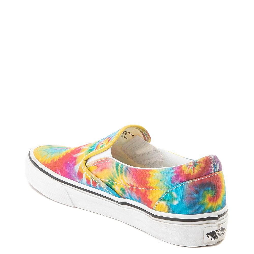 239deec481ba07 Vans Slip On Tie Dye Skate Shoe