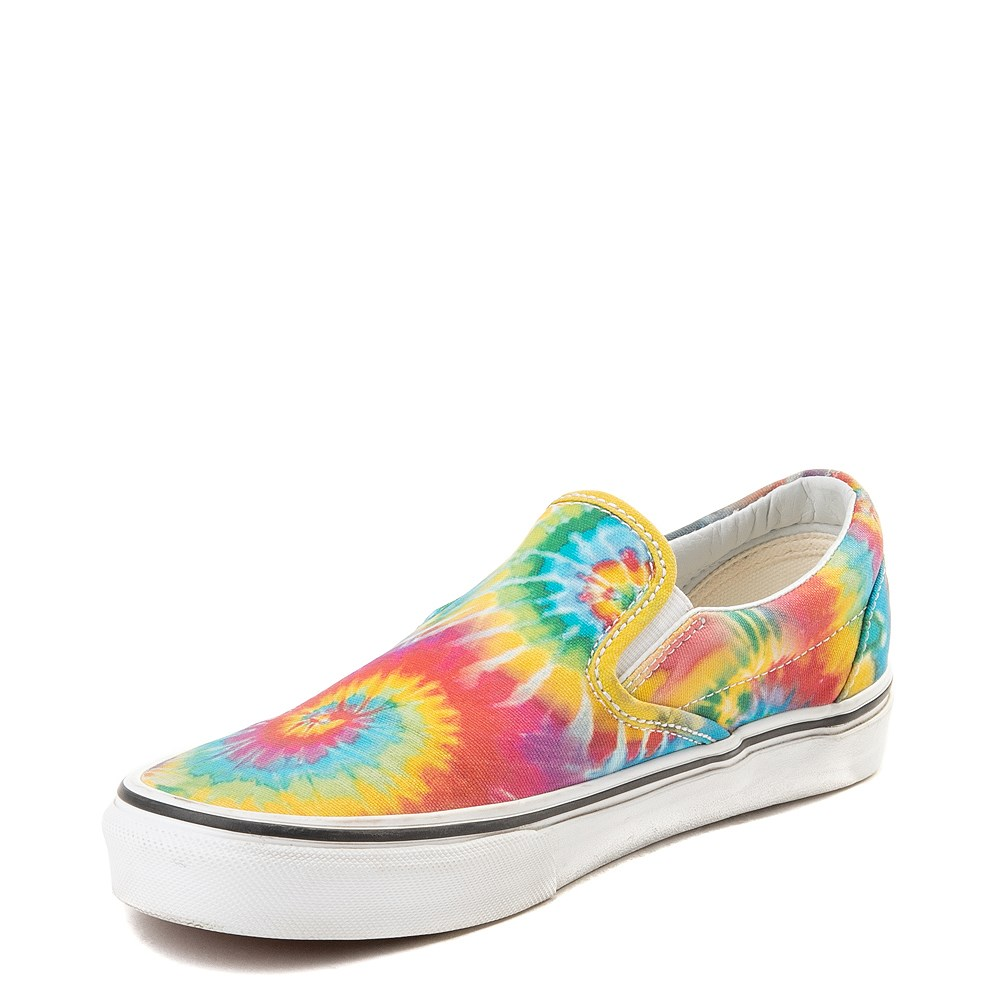 mens vans tie dye shoes