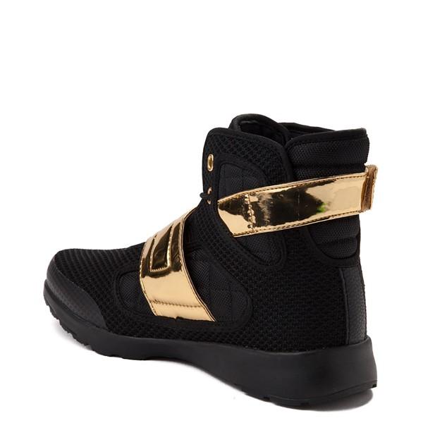 alternate view Mens Vlado Atlas III Athletic Shoe - Black / GoldALT1