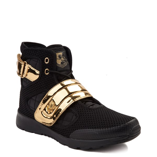 alternate view Mens Vlado Atlas III Athletic Shoe - Black / GoldALT1