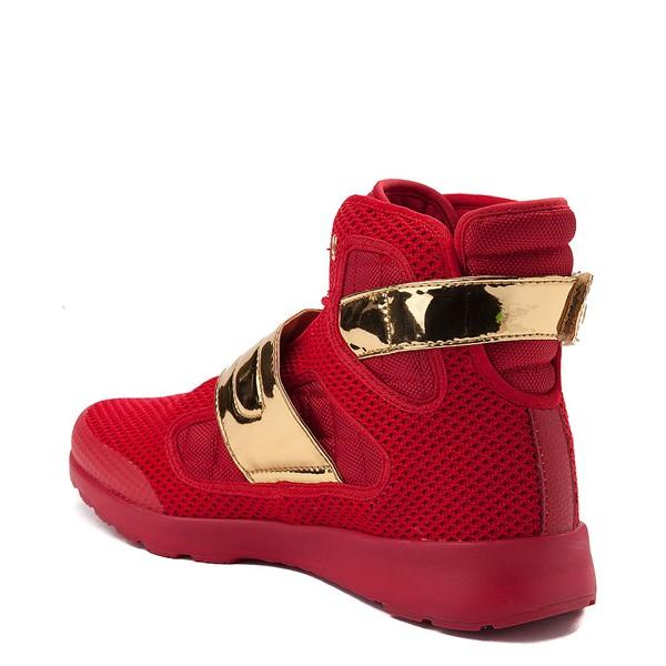 alternate view Mens Vlado Atlas III Athletic Shoe - Red / GoldALT1