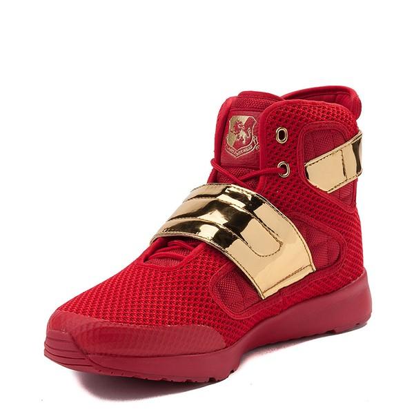 alternate view Mens Vlado Atlas III Athletic Shoe - Red / GoldALT2