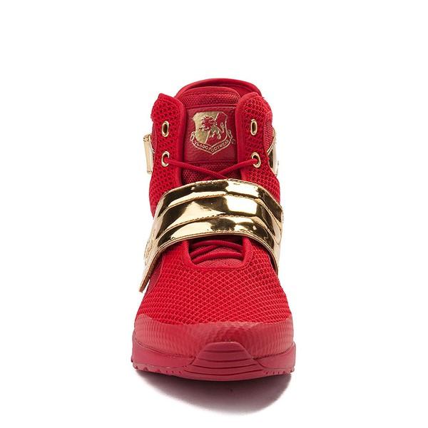alternate view Mens Vlado Atlas III Athletic Shoe - Red / GoldALT4
