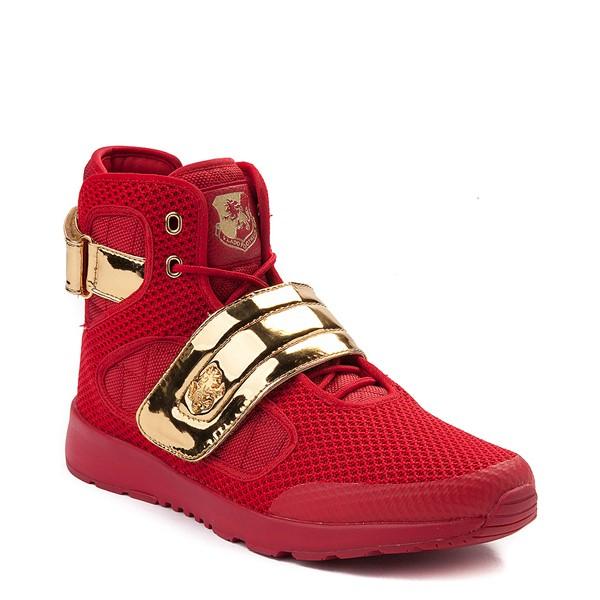 alternate view Mens Vlado Atlas III Athletic Shoe - Red / GoldALT5