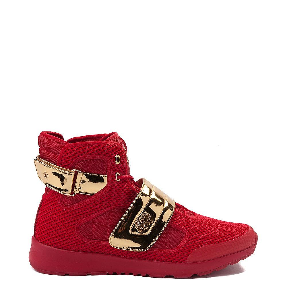 Mens Vlado Atlas III Athletic Shoe - Red / Gold