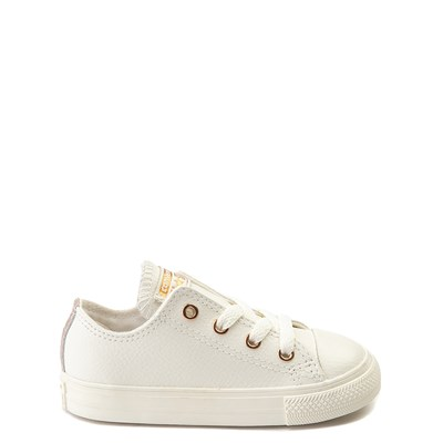 Infant/Toddler Converse Chuck Taylor All Star Lo Leather Sneaker