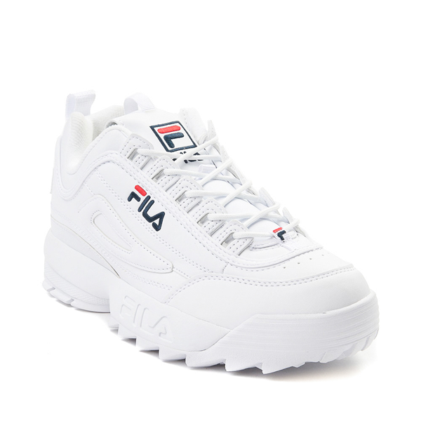 alternate view Womens Fila Disruptor 2 Premium Athletic Shoe - WhiteALT5