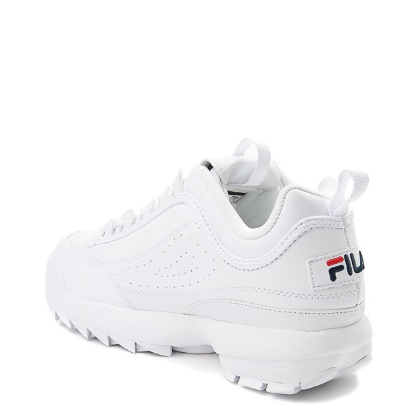 alternate view Womens Fila Disruptor 2 Premium Athletic Shoe - WhiteALT2