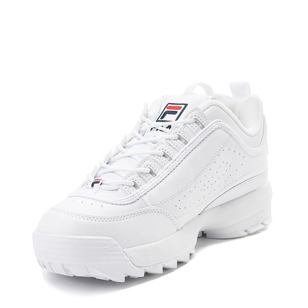 alternate view Womens Fila Disruptor 2 Premium Athletic Shoe - WhiteALT3