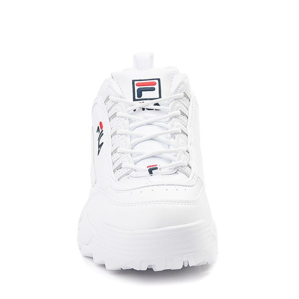 alternate view Womens Fila Disruptor 2 Premium Athletic Shoe - WhiteALT4