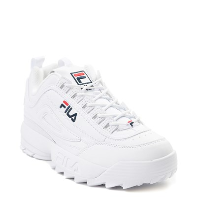 Alternate view of Womens Fila Disruptor 2 Premium Athletic Shoe - White