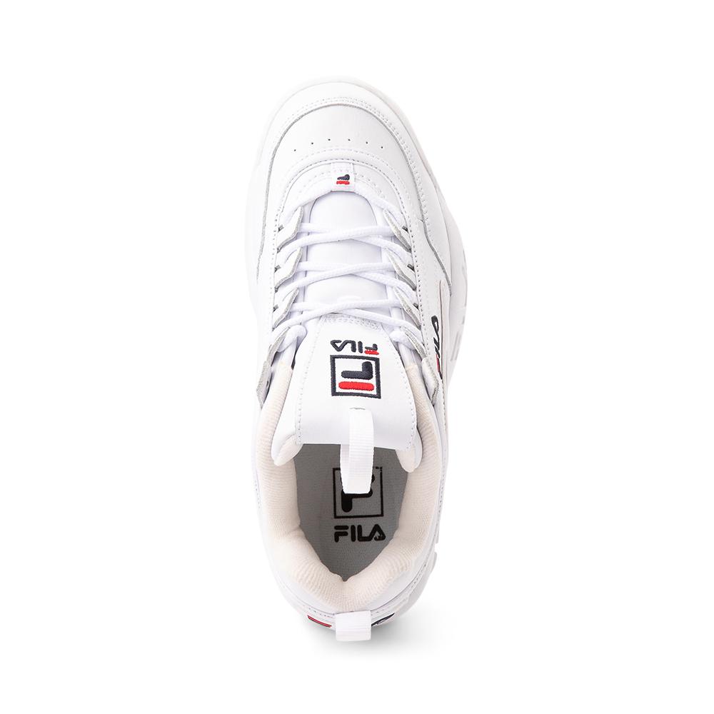Womens Fila Disruptor 2 Premium Athletic Shoe - White