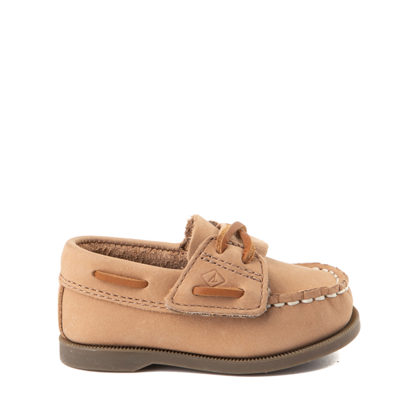 Main view of Sperry Top-Sider Authentic Original Gore Boat Shoe - Baby - Sahara