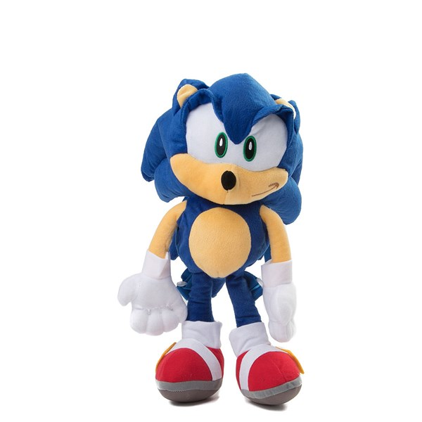 Main view of Sonic the Hedgehog™ Plush Backpack - Blue