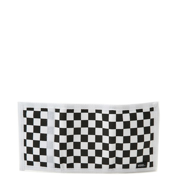alternate view Vans Slipped Tri-Fold Wallet - Black / WhiteALT2
