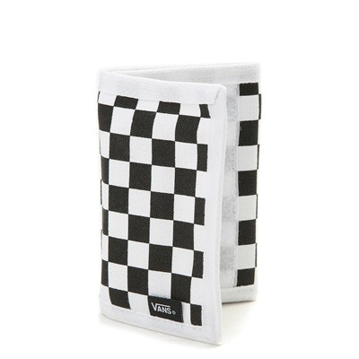 Main view of Vans Slipped Tri-Fold Wallet - Black / White