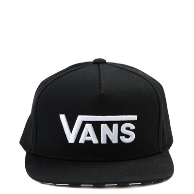 Main view of Vans Drop V Snapback Cap - Little Kid - Black