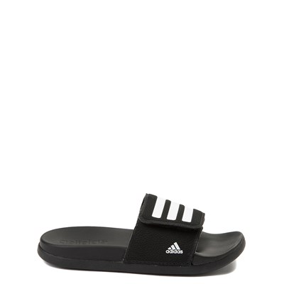 Main view of adidas Adilette Comfort K Slide Sandal - Little Kid / Big Kid