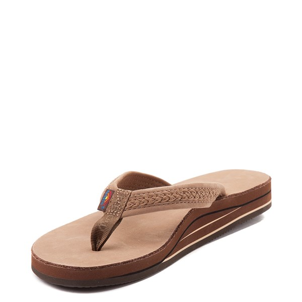 alternate view Womens Rainbow Willow Sandal - Dark BrownALT3
