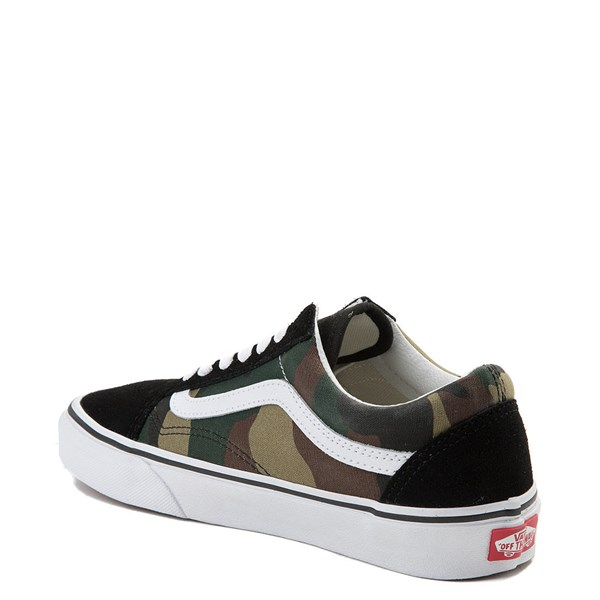 alternate view Vans Old Skool Skate Shoe - Black / CamoALT2