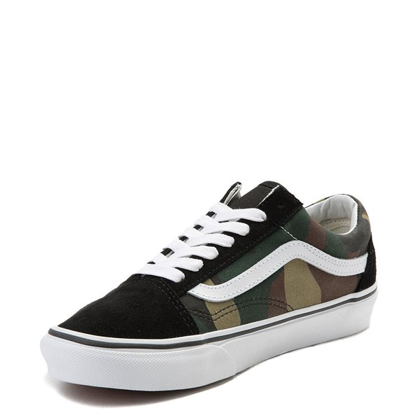 alternate view Vans Old Skool Skate Shoe - Black / CamoALT3