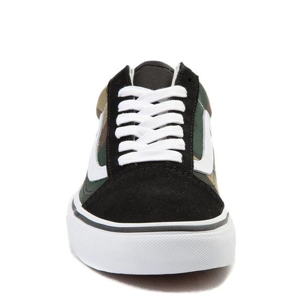 alternate view Vans Old Skool Skate Shoe - Black / CamoALT4