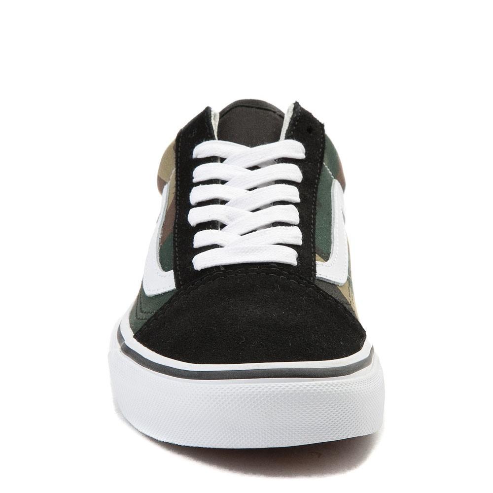 Details about  /Vans Mens Old Skool Black Woodland Camo Canvas Suede Skate shoes Size 9.5 NWT