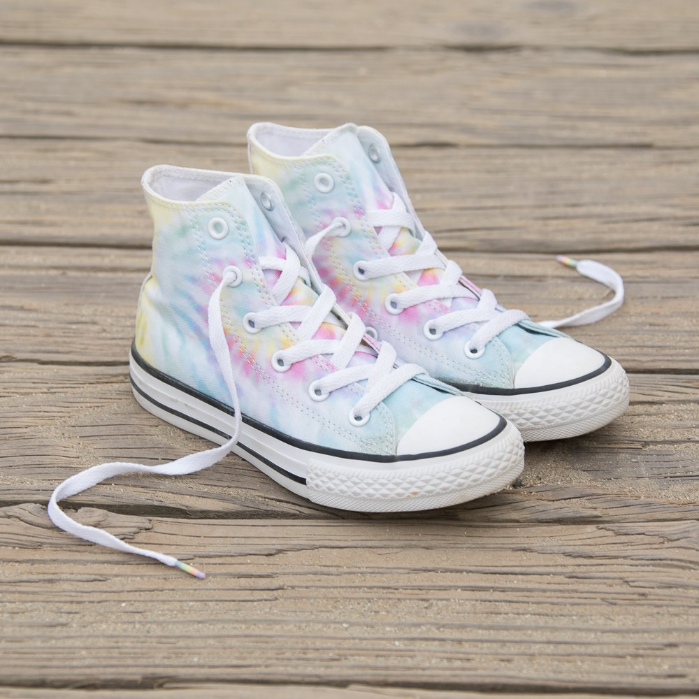 290eefc74f alternate view Converse Chuck Taylor All Star Hi Tie Dye Sneaker - Little  KidALT7