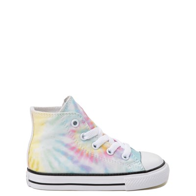 Main view of Converse Chuck Taylor All Star Hi Tie Dye Sneaker - Baby / Toddler