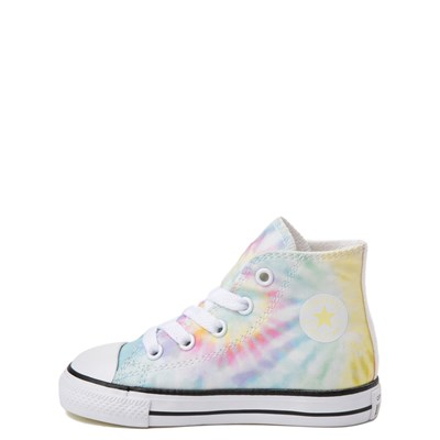 Alternate view of Converse Chuck Taylor All Star Hi Tie Dye Sneaker - Baby / Toddler