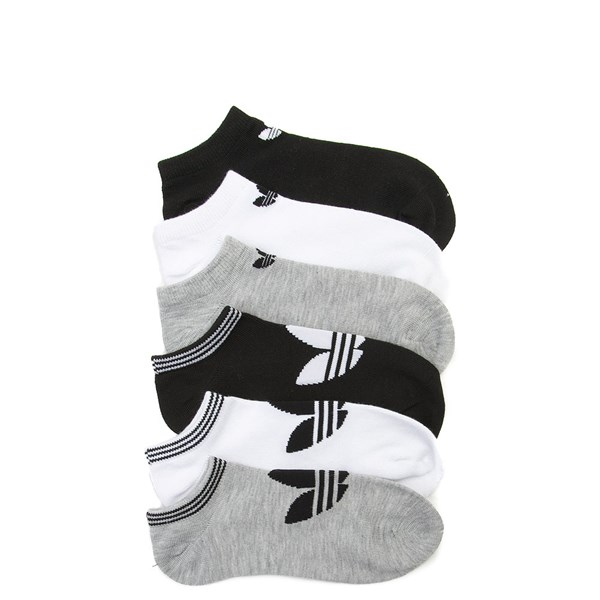 Womens adidas Low Cut Socks 6 Pack - Multi