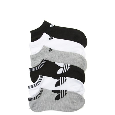 Main view of Womens adidas Low Cut Socks 6 Pack - Multi