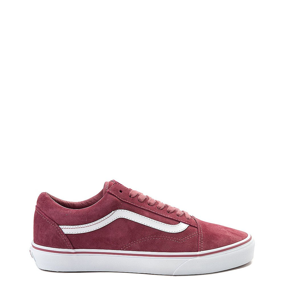 Vans Old Skool Premium Suede Skate Shoe - Rose