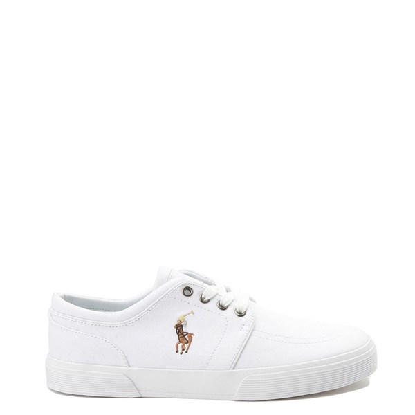 Main view of Mens Faxon Casual Shoe by Polo Ralph Lauren - White